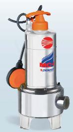 Υποβρύχια αντλία λυμάτων ΜC 10/50 INOX