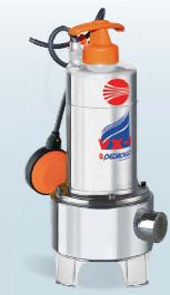 Υποβρύχια αντλία λυμάτων VX 10/35 INOX